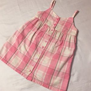 Old Navy Gingham Button Down Summer Dress